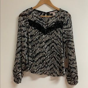 Brand New Forever 21 Flounce Top!